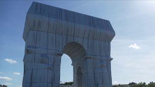 Arc de Triomphe :l'œuvre deChristodisparaîtra ceweek-end (FRANCE 3)
