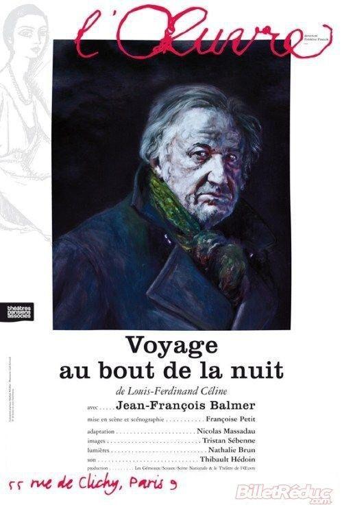 L'affiche de la pièce lors de sa création au théâtre de l'Oeuvre  (DR)