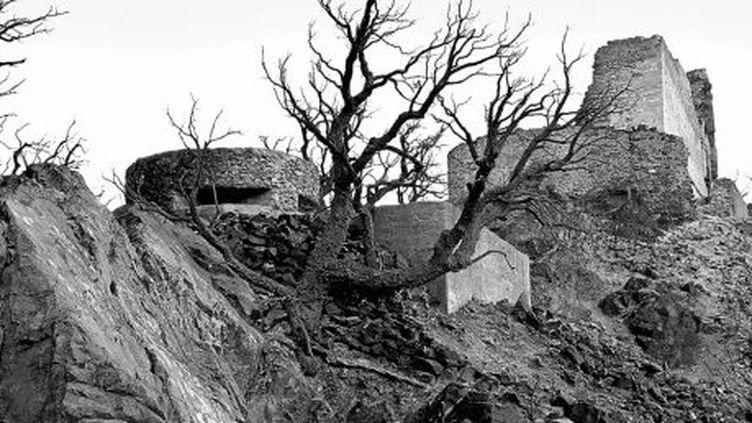 Une des photos de l'exposition du MUME sur les bunkers des Pyrénéessignée Guillem Vidal.  (Guillem Vidal/ MUME)