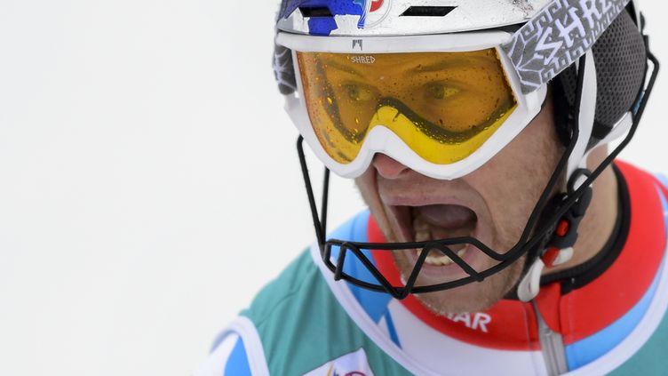 Alexis Pinturault et sa rage de vaincre. (FABRICE COFFRINI / AFP)
