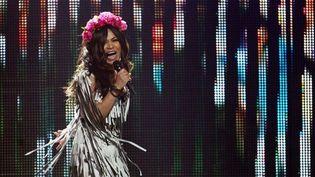La candidate ukrainienne à l'Eurovision 2012, Gaitana  (Valeriy Melnikov / AFP)