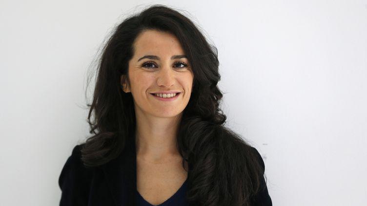 L'ex-porte-parole du parti Les Républicains, Lydia Guirous, le 21 septembre 2015. (FRANCOIS GUILLOT / AFP)