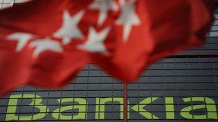 Bankia compte un portefeuille immobilier de 37,5 milliards d'euros, dont la très grande majorité (31,8 milliards) est problématique, car de valeur incertaine. (PIERRE-PHILIPPE MARCOU / AFP)