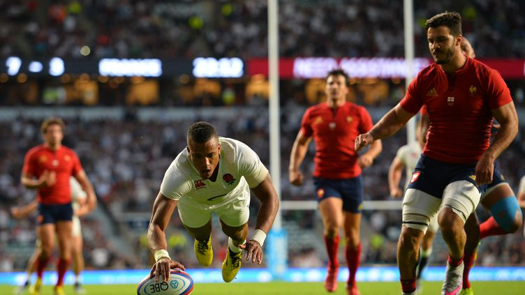 L'explosif ailier anglais Anthony Watson (GLYN KIRK / AFP)