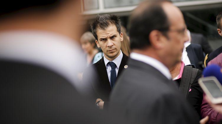L'ancien conseiller en communication de François Hollande, Gaspard Gantzer, le 22 juin 2015, à Paris. (DENIS ALLARD/REA)