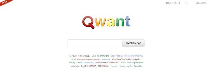 Qwant, le moteur de recherche français. ( FRANCETV INFO)