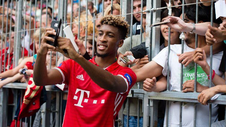 Le joueur du Bayern Munich, Kingsley Coman