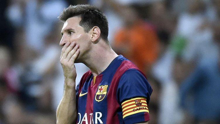 Le Barça de Messi n'est pas au meilleur de sa forme (GERARD JULIEN / AFP)