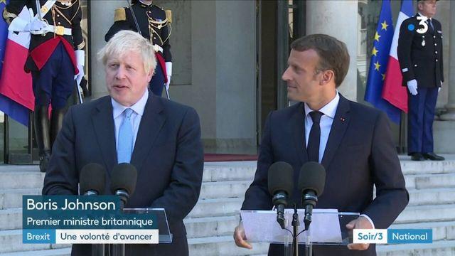 Brexit : Macron et Johnson veulent trouver une solution