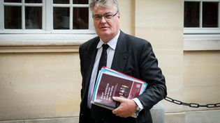 Jean-Paul Delevoye, haut-commissaire aux Retraites, le 5 septembre 2019. (THOMAS PADILLA / MAXPPP)