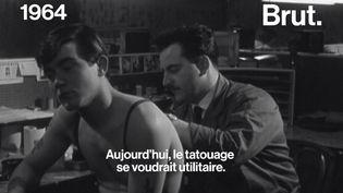 VIDEO. Quand la télévision française découvrait le tatouage… en 1964 (BRUT)