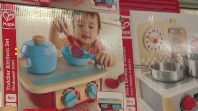 """La start-up bordelaise """"La petite Marelle"""" a créé une plateforme de location et d'échanges de jouets. (France Télévisions)"""