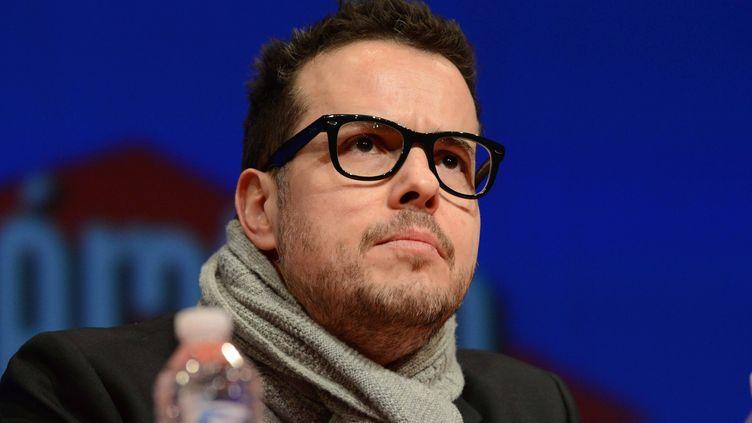 Nicolas Demorand, lors du Forum Libération, à Rennes, le 30 mars 2013. ( MAXPPP)