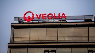 Le nouveau siège de la multinationaleVeolia, à Aubervilliers. (MAXPPP)