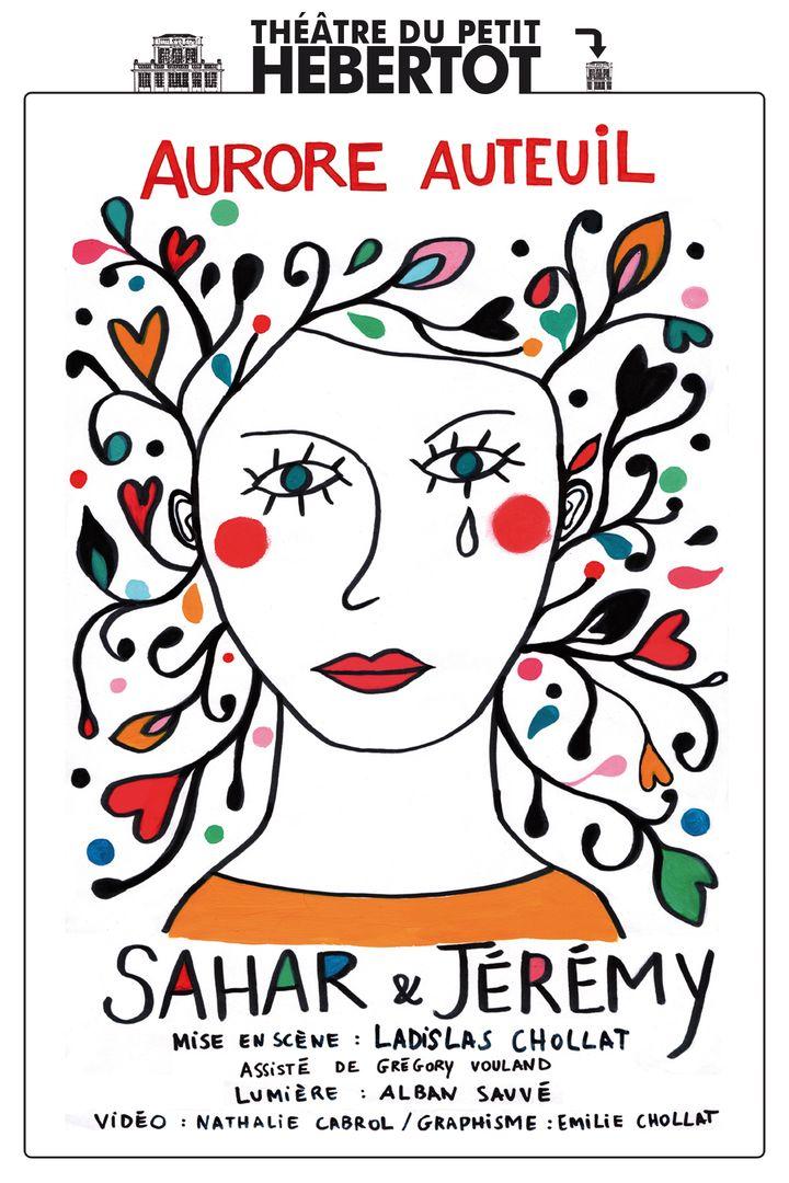 L'affiche de Sahar et Jérémy  (Petit Hébertot)
