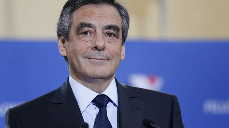François Fillon, le 27 novembre, à Paris. (THOMAS SAMSON / AFP)