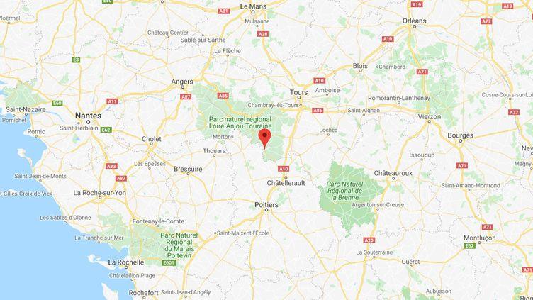 Richelieu, en Indre-et-Loire. (GOOGLES MAPS)
