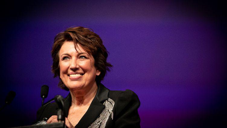 La ministre de la Culture Roselyne Bachelot à Deauville, le 4 septembre 2020 (LOU BENOIST / AFP)