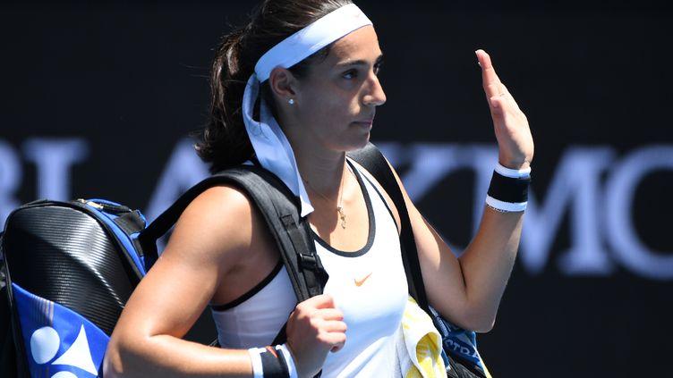 La joueuse française Caroline Garcia (WILLIAM WEST / AFP)