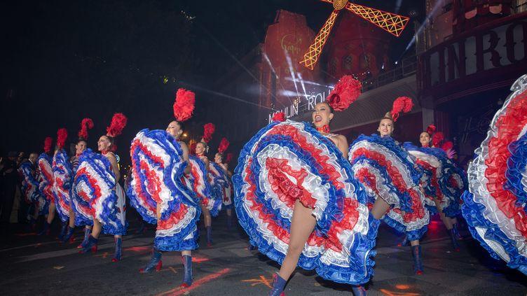 Le Moulin-Rouge fête ses 130 ans. (FRED DUGIT / MAXPPP)