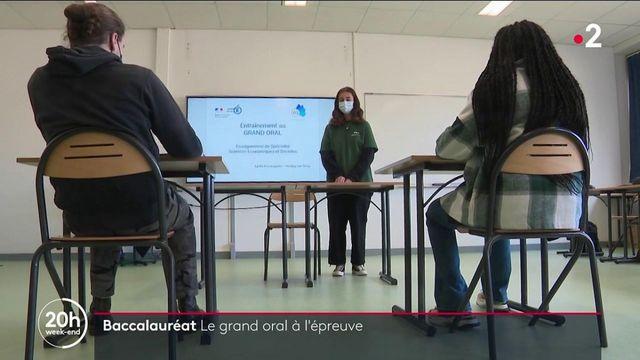 Baccalauréat : passer le grand oral, un défi pour les Terminales