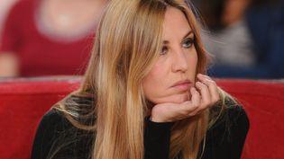 L'actrice Mathilde Seigner participe à une émission sur France 2, le 9 octobre 2012. (BENAROCH / SIPA)