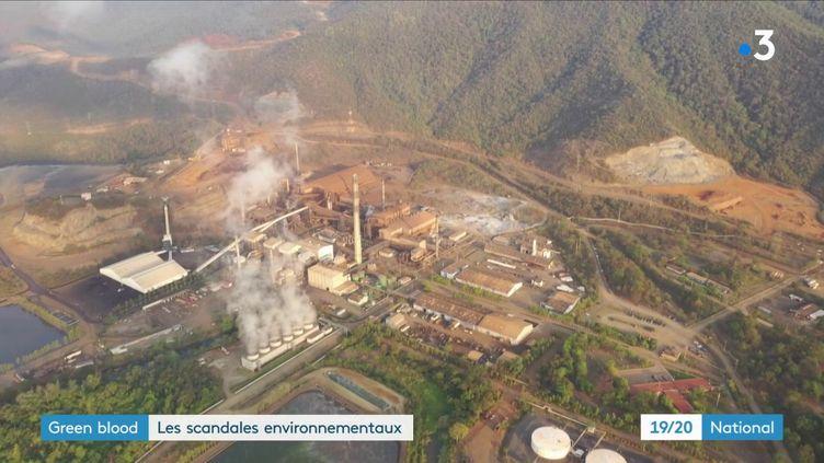 Des pêcheurs indigènes ont accusé une mine deferronickel d'être à l'origine d'une pollution dans le lac Izabal (Guatemala). L'un d'entre eux est mort lors d'une manifestation, en mai 2017. (FRANCE 3)