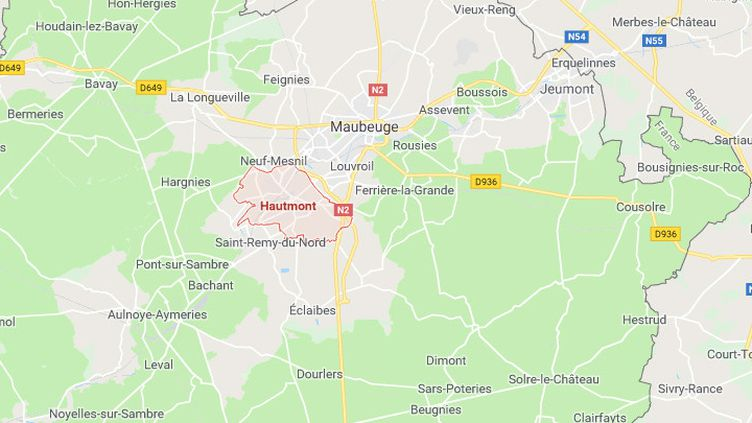 Hautmont (Nord) (GOOGLE MAPS)