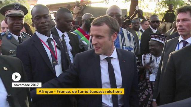 Afrique-France : depuis le début de son quinquennat, Emmanuel Macron multiplie les gestes symboliques