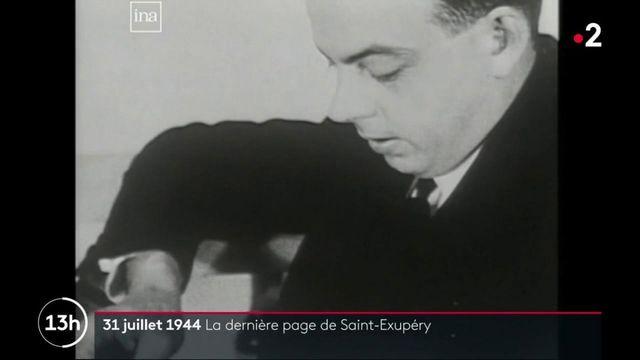 Dans le rétro : 31 juillet 1944 : la dernière page de Saint-Exupéry