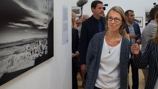 Françoise Nyssen, Rencontres internationales de la photographie, 3 juillet 2017  (bertrand Langlois / AFP)