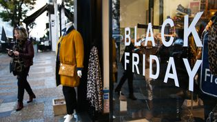 """Lors du """"Black Friday"""" du 29 novembre 2019 en Corse (photo d'illustration). (PASCAL POCHARD-CASABIANCA / AFP)"""