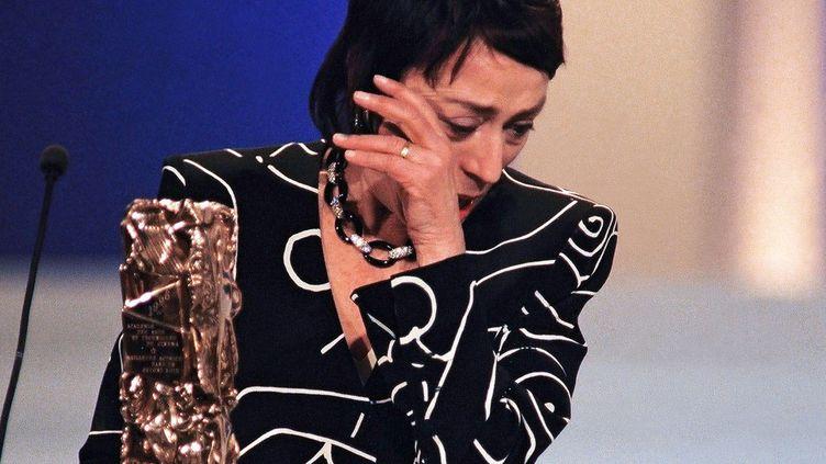 Annie Girardot aux César en 1996  (VINCENT AMALVY / AFP)