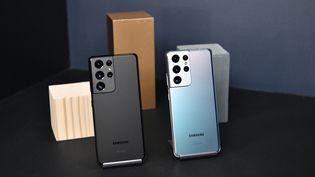 Le smartphone premium de Samsung est sur le marché depuis le 29 janvier 2021. (DIA DIPASUPIL / GETTY IMAGES NORTH AMERICA)