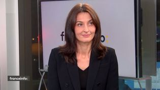 Natacha Valla, directrice de l'École de management et de l'innovation de Sciences Po (04 décembre 2020). (FRANCE INFO / RADIO FRANCE)
