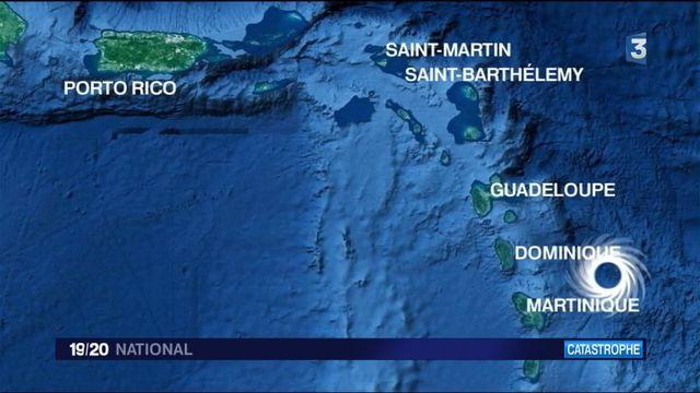 Ouragan Maria : l'île de Porto Rico balayée