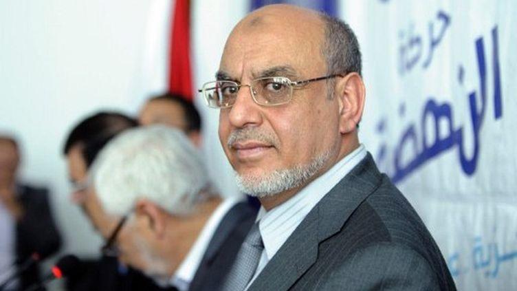 Hamadi Jebali convoite le poste de Premier ministre. (FETHI BELAID / AFP)