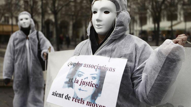 En novembre 2010, Ni putes ni soumises réclamait déjàdes moyens pour les associations. (JOEL SAGET / AFP)