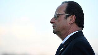 François Hollande renonce à un second mandat. (STEPHANE DE SAKUTIN / AFP)