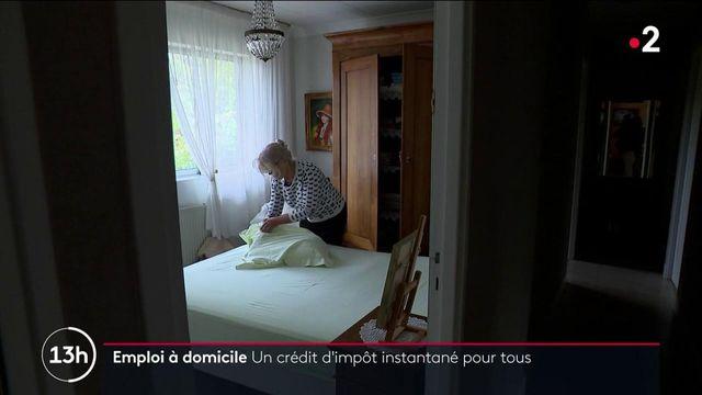 Emploi à domicile : bientôt un crédit d'impôt instantané pour inciter les Français à déclarer leurs salariés
