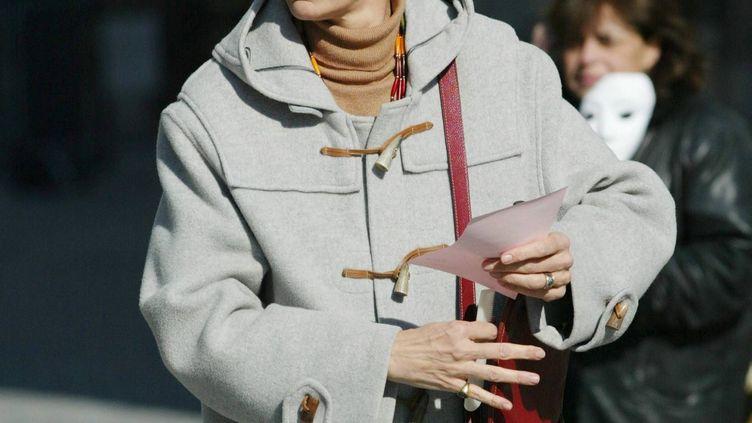 Véronique Fayet, le 24 février 2004. (MAXPPP)