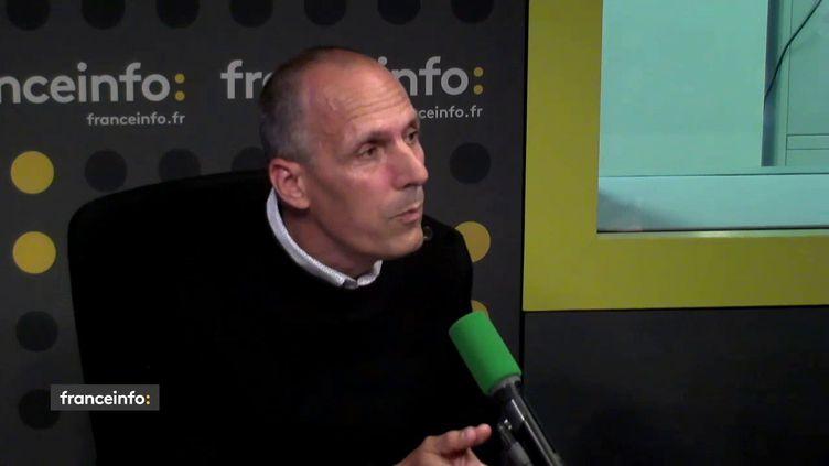 Patrice Moyon, journaliste à Ouest-France, invité des Informés de franceinfo. (RADIO FRANCE)