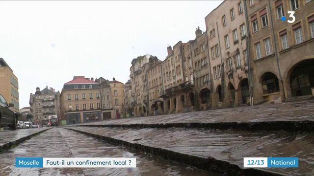 Covid-19 : en Moselle, les habitants se préparent à un reconfinement