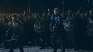 Une image du début de la bataille de l'épisode 3 de la saison 8 de Game of Thrones. (HBO)