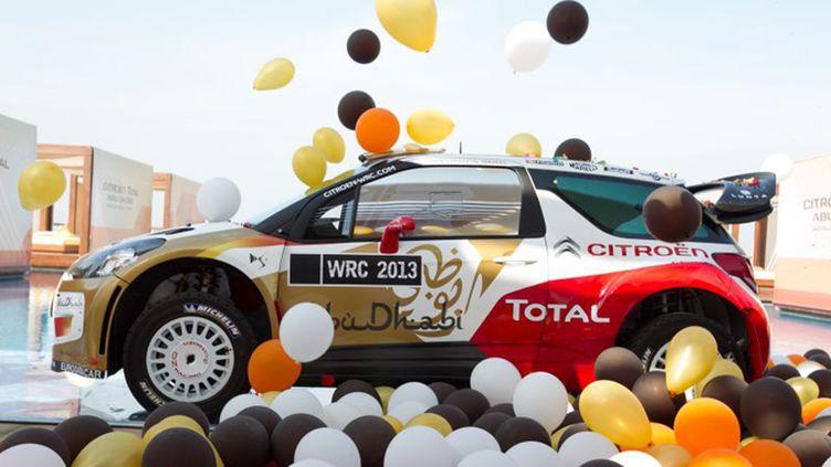 La Citroën DS3 WRC