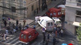 Boualem Bensaïd, l'auteur de l'attentat de 1995 contre le RER B, à la station Saint-Michel, à Paris, demande sa remise en liberté. La justice doit examiner cette demande jeudi 28 mai. (France 2)