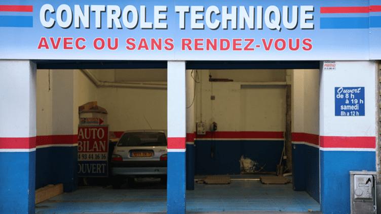 (Un des 6500 centres de contrôle technique de France. © MaxPPP)