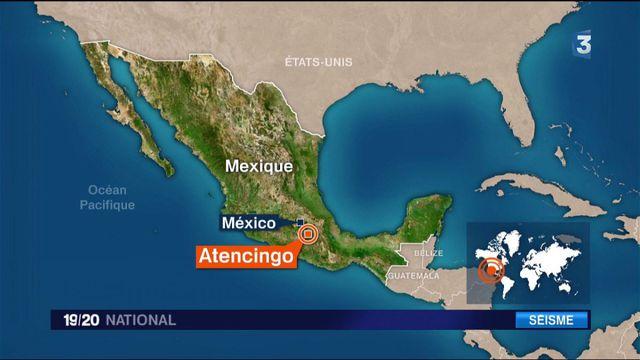 Mexique : l'un des plus séisme de ces 30 dernières années