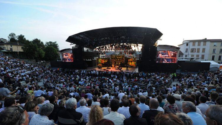 Une soirée du Jazz à Vienne à guichets fermés, au Théâtre antique… (25/6/2010)  (Hervé Coste / MaxPPP)