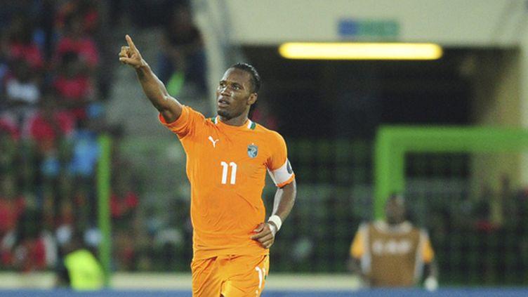 L'attaquant de Chelsea Didier Drogba